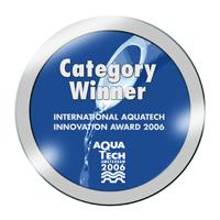 Category winner of Aquatech International Innovation Award