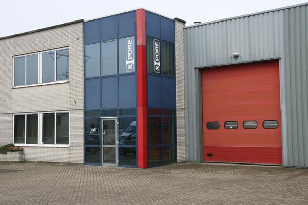 X-Pore 600 m2 facility Helmond